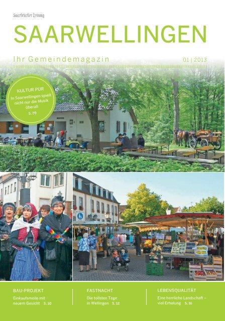 Gemeindemagazin Saarwellingen 01|2013