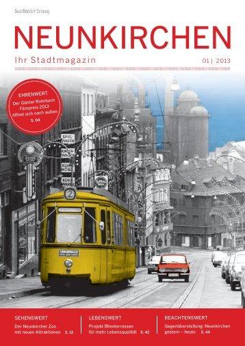 Stadtmagazin Neunkirchen 01|2013