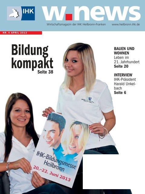 IHK-Bildungsmesse | w.news 04.2013