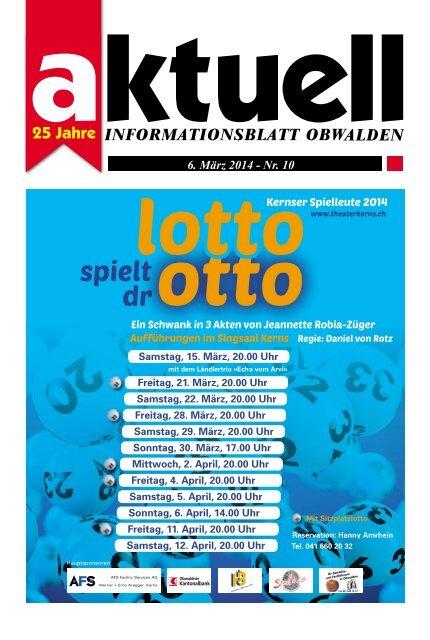 Aktuell Obwalden 10-2014