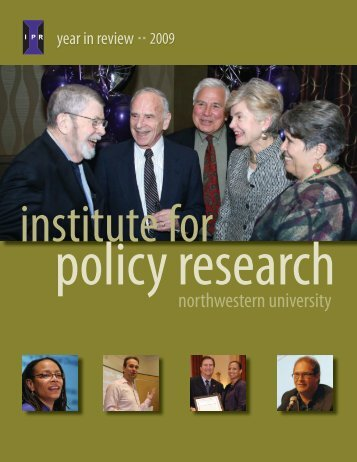 Overview of Activities - Institute for Policy Research - Northwestern ...