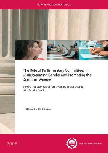 gender mainstreaming in descriptions of duties Main duties and responsibilities:  prepares detailed descriptions of key issues from time to time to support the  gender analysis, and mainstreaming and.