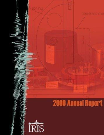 2006 Annual Report - IRIS