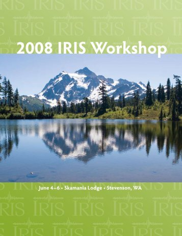 2008 IRIS Workshop