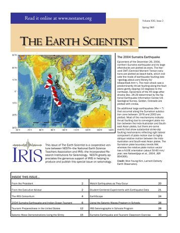 Contained in this issue (.pdf - 3.2Mb) - IRIS