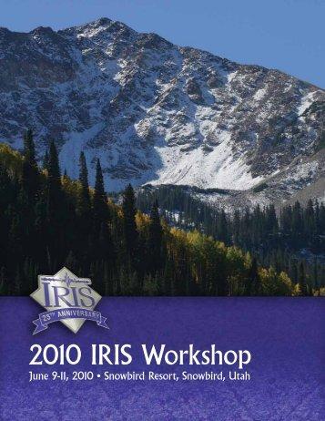 Download 0.9 Mb pdf - IRIS