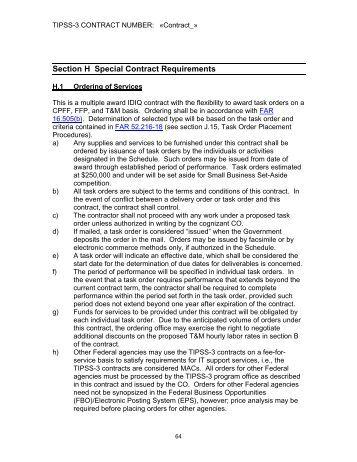 Cio Sp3 Conformed Contract Hp Enterprise Services Microsites