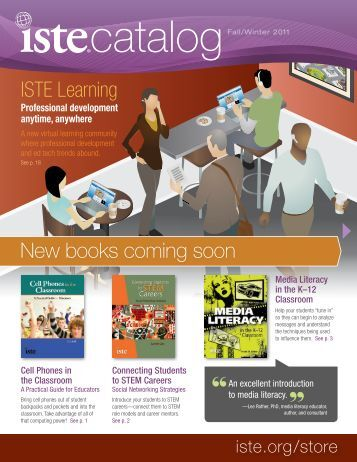 ISTE Learning New books coming soon