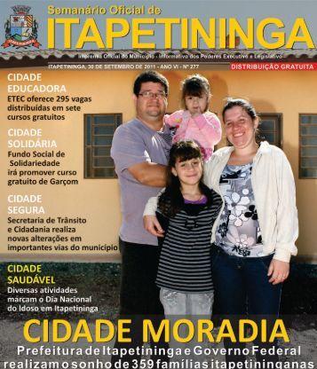 Semanário Oficial do Município - Prefeitura Municipal de ...