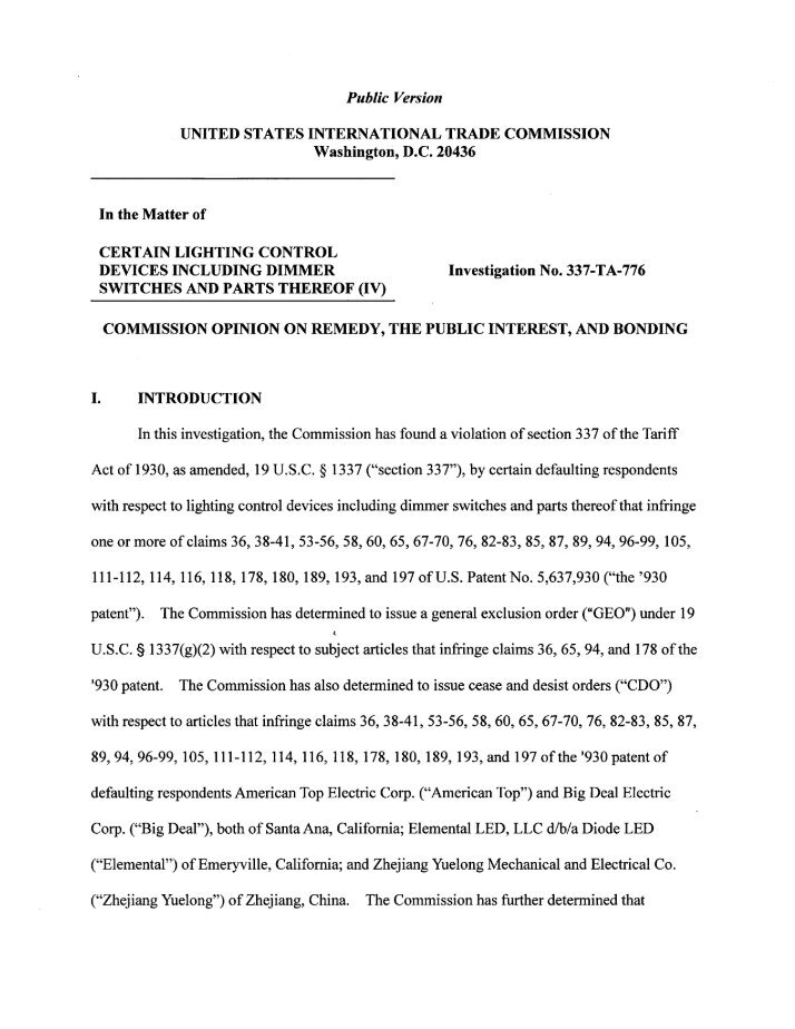 Itc Exclusion Order Cialis