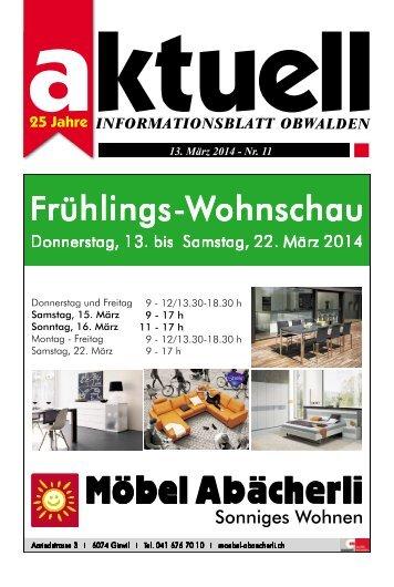 Aktuell Obwalden 11-2014