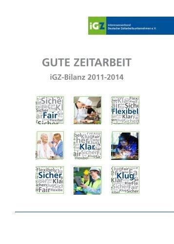 iGZ-Geschäftsbericht 2011-2014