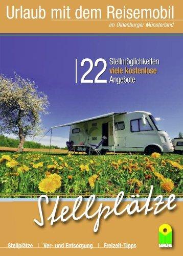 Reisemobilstellplätze im Oldenburger Münsterland