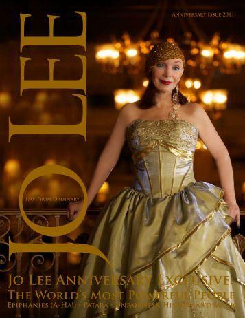 Jo Lee Anniversary Exclusive: - JO LEE Magazine