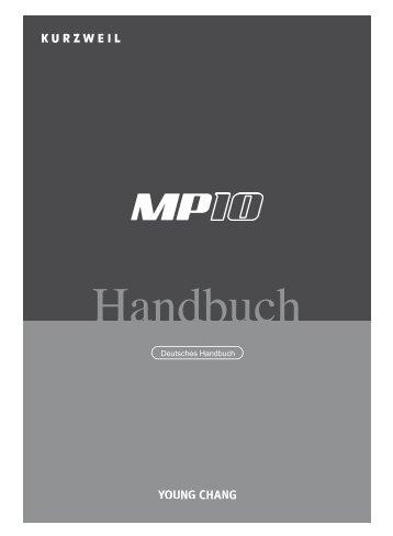 Bedienungsanleitung mp10 [4,85 MB] - Just Music