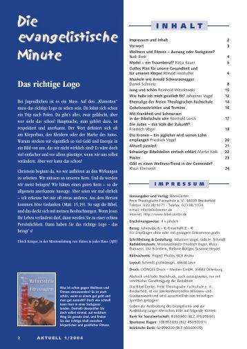 aktuell 1 - Bibel-Center.de