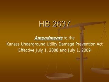 HB 2637 - Kansas Corporation Commission