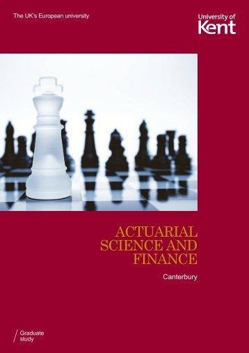 CASRI postgraduate brochure - University of Kent