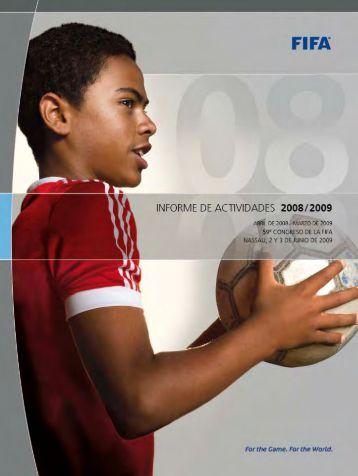 Informe de Actividades 2008/2009 - FIFA.com