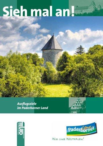 Ausflugsziele im Paderborner Land - Kreis Paderborn