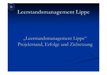 Leerstandsmanagement Lippe - Kreis Paderborn