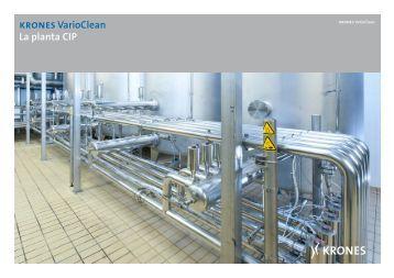 kronesVarioClean La planta CIP - Krones AG