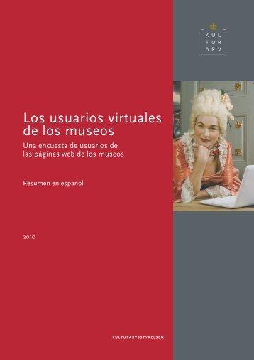 Los usuarios virtuales de los museos - Kulturstyrelsen