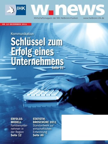 Werbung + Kommunikation | w.news 12.2011