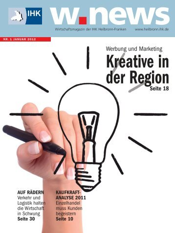 Kreative in der Region | w.news 01.2012