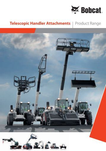 Telescopic Handler Attachments | Product Range - Bobcat.eu
