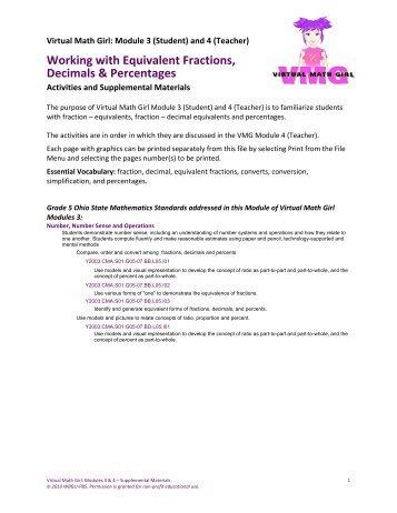 Fractions decimals percentages worksheet ks2