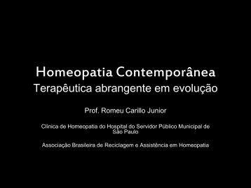 Homeopatia Contemporânea - Associação Brasileira de ...