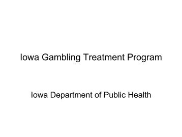 Treatment programs for gambling addiction kewadin casino hotel st
