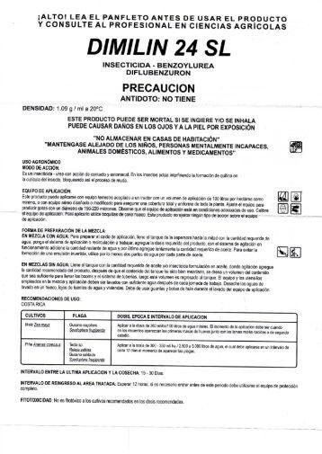 DIMILIN 24 SL -  AGRICOLA PISCIS S.A.