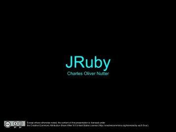 eRubyCon 2008.pdf - JRuby