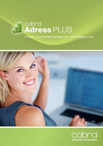 Kunden- und Kontaktmanagement mit Erfolgsgarantie - Cobra