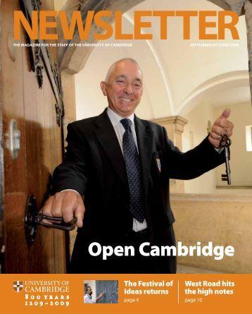 Open Cambridge - the University Offices - University of Cambridge