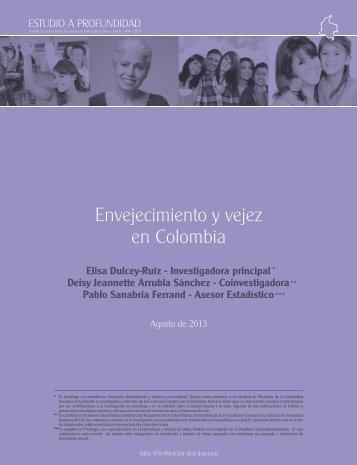 3 - ENVEJECIMIENTO Y VEJEZ EN COLOMBIA