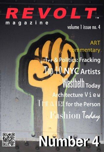 Download PDF Version Revolt Magazine, Volume 1 Issue No.4