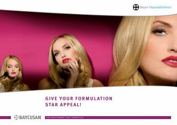 GIVE YOUR FORMULATION STAR APPEAL! - Coptis