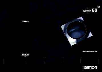 Serie Simon 88, catálogo mecanismos, llaves, enchufes ... - Venespa