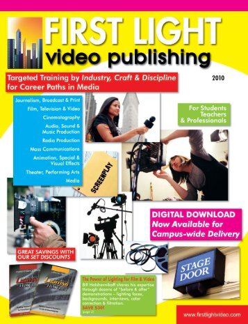 2010 FirstLight Catalog - FIRST LIGHT VIDEO PUBLISHING