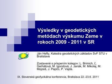 2011 v SR - fyzikazeme.sk