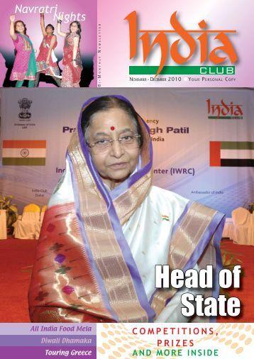 Head of State - India Club, Dubai, UAE