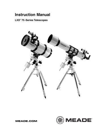 Meade Telescope Serial Command Protocol