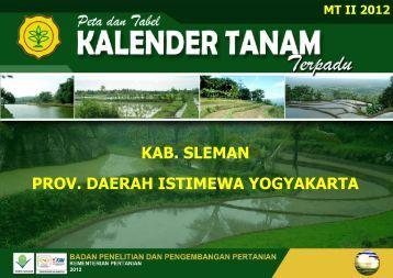 prov. daerah istimewa yogyakarta kab. sleman - BPTP Yogyakarta
