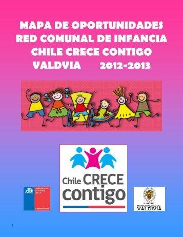 Mapa de Oportunidades Red comunal de infancia Chile Crece ...