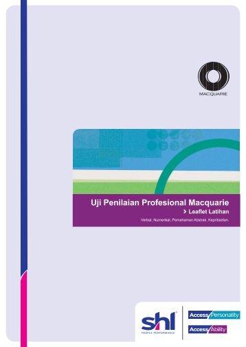 Uji Penilaian Profesional Macquarie