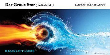 Der Graue Star(die Katarakt) - Bausch + Lomb