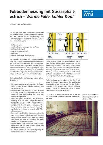 fu bodenheizung mit gussasphalt estrich aba bad. Black Bedroom Furniture Sets. Home Design Ideas
